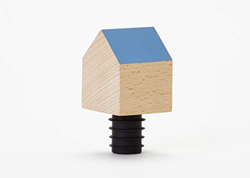Areaware DLBHB Bottle House Barware Tool, Blue