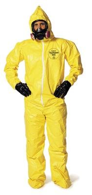DuPont Personal Protection QC122SYLXL00 X-Large Yellow SafeSPEC 2.0 10 mil Tychem Q