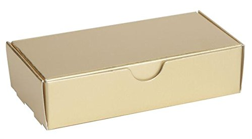 (1/2 lb GOLD Tuck Top Candy Box - Case of 250)