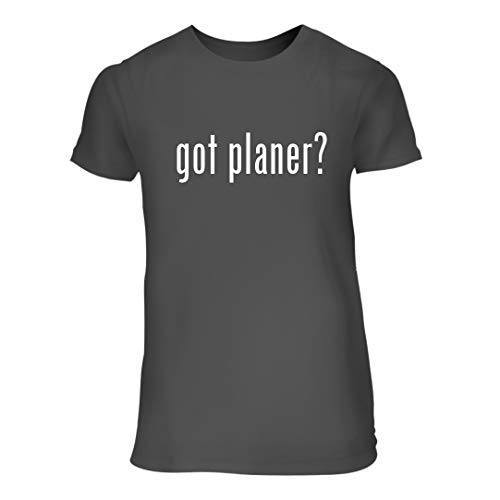 got Planer? - A Nice Junior Cut Women's Short Sleeve T-Shirt, Grey, Large