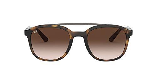 Ray-Ban RB4290 Square Sunglasses, Havana/Brown Gradient, 53 mm