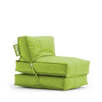 31BlE41oONL - Big-Joe-Flip-Lounger-bean-bag-game-chair-sleeper-bed-dorm-gaming-fold-down-NEW-Black