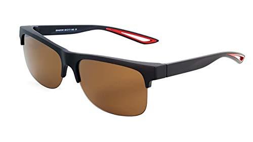 Fit Over Polarized Sunglasses Driving Clip on Sunglasses to Wear Over Prescription ()