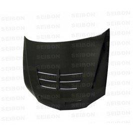 SEIBON 03-07 Lancer Evo 8/9 Carbon Fiber Hood TSII 05