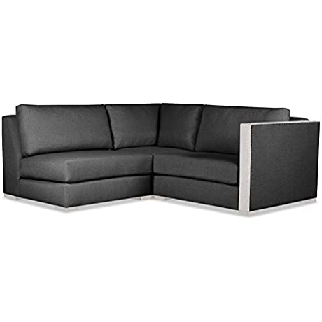 South Cone Home GRNWHCH AR4 CHARC Greenwhich Modular Sectional Charcoal
