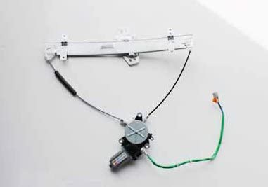 TYC 660107 Compatible with HONDA Civic Front Passenger Side Replacement Power Window Regulator Assembly with Motor