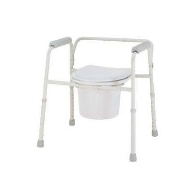 MCK41133300 - Merits Health Products 3-In-1 Commode Deluxe With Arms 16 to 22 Inch