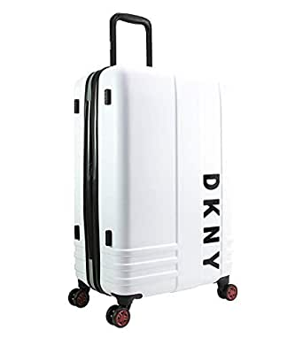 "DKNY - Iconic 27"" Medium Hardside Suitcase - White"
