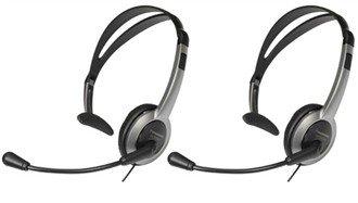 - Panasonic KX-TCA430 Over the Head Headset (2-Pack)