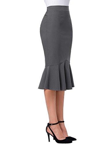 Kate Kasin Women Vintage Fitted Business Mermaid Skirts XXL K241-4