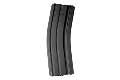 MetalTac 500 Rounds M-Series Airsoft Gun Magazine High Capacity Long Magazine Metal Mag Full Metal ()