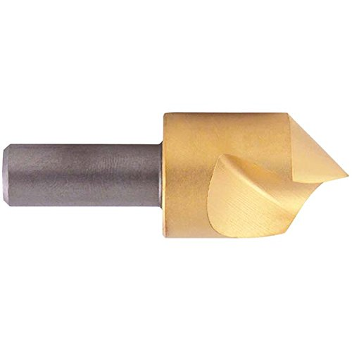 1.75 Length Pack of 12 0.375 Cutting Diameter TiN Coating KEO 55427-TiN CO SF Countersink 3//8, Cobalt 90 Degree Cutting Angle 1//4 Shank Diameter 1.75 Cutting Length