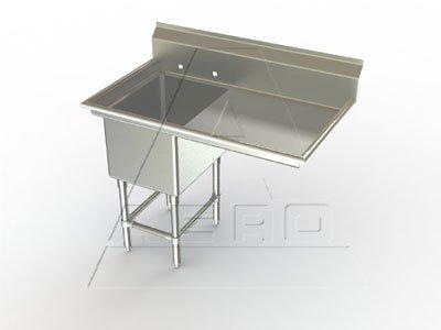 Aerospec One Compartment NSF Sink 24 x 18 inch Bowl