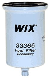 WIX Filters - 33366 Heavy Duty Spin-On Fuel Filter, Pack of 1 on fuel gauge, fuel exhaust, fuel centrifuge, fuel products, fuel petcock, fuel rail, fuel pipe, fuel piping, fuel strainer, fuel regulator location, fuel emissions, fuel light, fuel relay, fuel element, fuel water test kit, fuel algaecide,