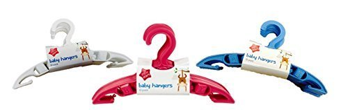 Small Baby Coat Hangers Kids Clothes Childrens Hanger Slim Plastic x 30