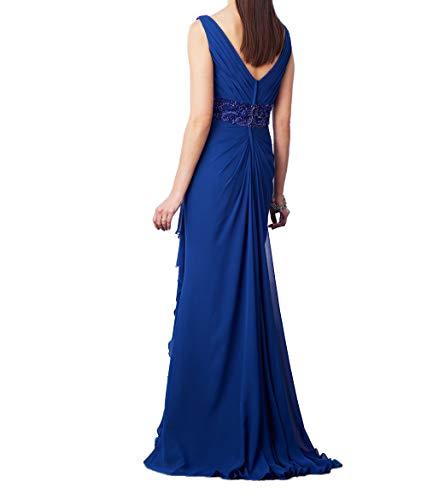 Charmant Ausschnitt Perlen Promkleider Ballkleider Damen mit Festlichkleider Traube Abendkleider V Pailletten Elegant rtrS1