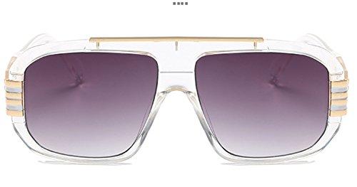 les mode de de anti femmes lunettes en grande soleil grand soleil dehors et soleil Sucatle nouveau Europe hommes boîte Sucatle homme universelles lunettes violet lunettes les gx7YanwAqv
