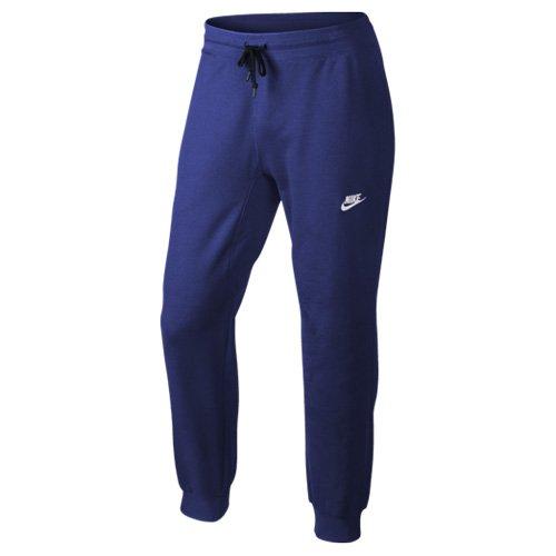 Nike Aw77 Ft Cuff Pantalón Chandal, Hombre, Azul (Deep Royal Blue ...