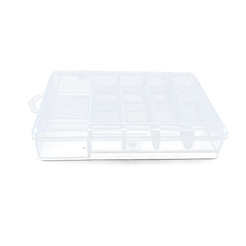 10 PCS Clear Beads Tackle Box Arts Crafts Tackle Storage Plastic Boxes Organizers Containers Case XX022 by YUANLAI BOX