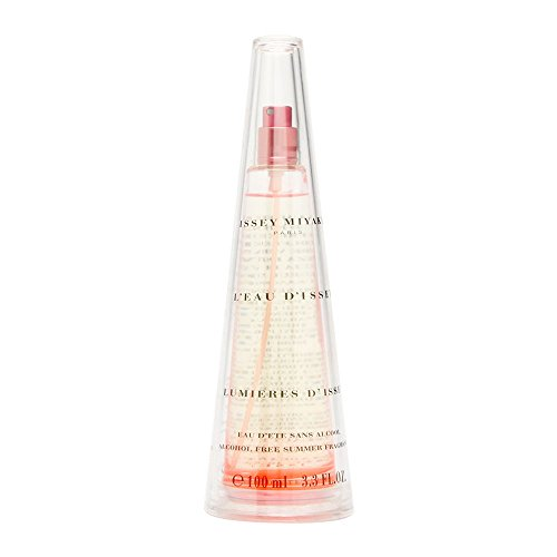 L'eau d'Issey Lumieres d'Issey by Issey Miyake for Women 3.3 oz Eau d'ete Alcohol-Free Summer Fragrance Spray 2002 Limited Edition Dete Summer Eau De Toilette