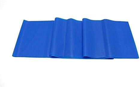 ピラティスバンド、フィットネス抵抗バンド、フィットネスホーム使用女性ペダル痩身プルデバイス、減量ロープ (Color : Blue)