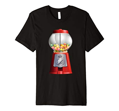 Gumball Machine Halloween Costume Candy Vending Premium T-Shirt
