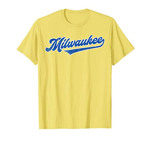 - Milwaukee Baseball | Brewer Baseball Retro Gift T-Shirt