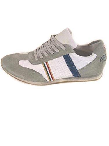 Aeronautica Militare Scarpe Sneakers Pelle Bianca n. 40,41,42,44,45,46 S1/23