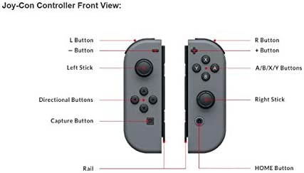 SW Nintendo Switch JOY-CON NEON YELLOW & BLUE 5