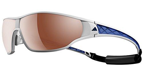 Adidas Sonnenbrille Tycane Pro L (A189) White/Blue