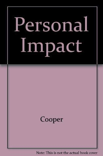 Personal impact: How to present yourself for success