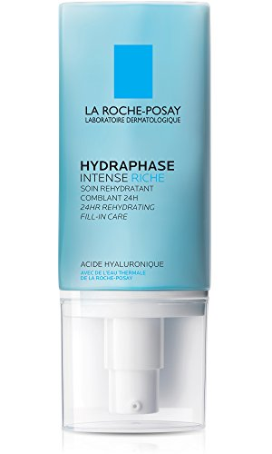Price comparison product image La Roche-Posay Hydraphase Intense Riche 24-Hour Intense Rehydration Moisturizer for Dry Skin with Hyaluronic Acid, 1.69 Fl. Oz.