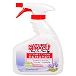 Nature's Miracle Just for Cats Stain and Odor Remover, Lavender Scent, 32 oz
