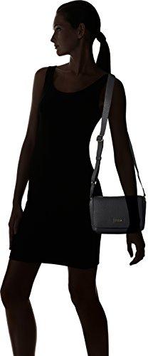 Furla Capriccio Mini Crossbody - Bolsos bandolera Mujer Negro (Onyx)