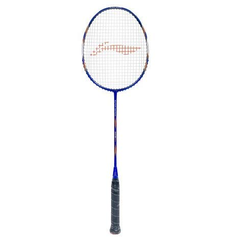 Li Ning SS 9 G5 Carbon Graphite Strung Badminton Racquet  Blue/Gold
