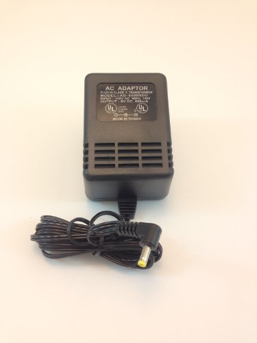 AC-DC Adapter 6VOLTS DC @ 500mA 1.7mm Right Angle DC Power Plug Positive ()