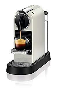 Nespresso Citiz D112 - Cafetera monodosis, color blanco: Amazon ...