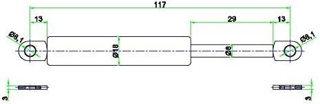 1401bj Capote B4 2/x Ressort /à gaz V/érin /à gaz pour Audi Cabriolet Capote Bac /à BG
