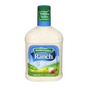 Hidden Valley Ranch, Original Ranch Dressing, 36oz Bottle (Pack of 2)