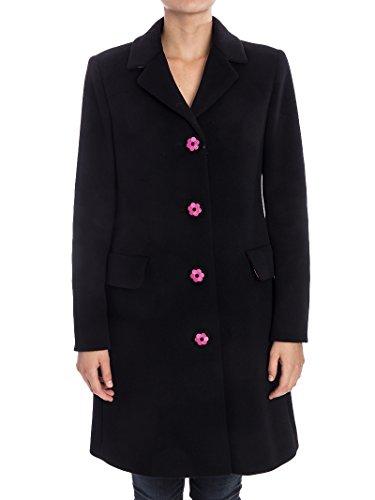 Damen Moschino Mantel Boutique Schwarz Wolle J061058171555