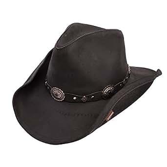 78e96e369b49c7 Amazon.com: Stetson Roxbury Shapeable Leather Cowboy Western Hat ...