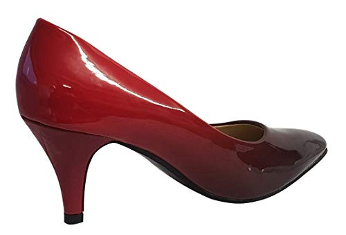 Black Danse Salon Boutique Femme Box Red de Shoe nZ1FgWY