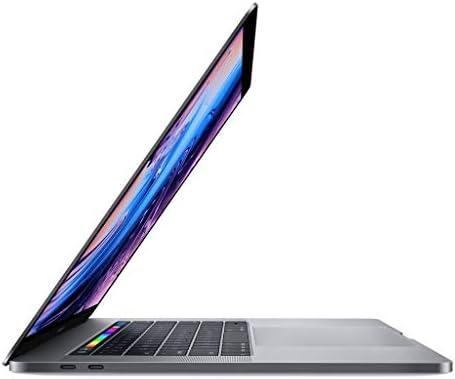 Apple 15.4in MacBook Pro Laptop (Retina, Touch Bar, 2.2GHz 6-Core Intel Core i7, 16GB RAM, 256GB SSD Storage) Space Gray (MR932LL/A) (2018 Model) (Renewed) 31Bly wKH0L
