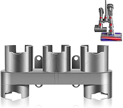 TIM Accessory Holder Compatible with Dyson V7 V8 V10 V11 Vacuum Cleaner Attachment Holder Docking Station, Grey, 1 Pack