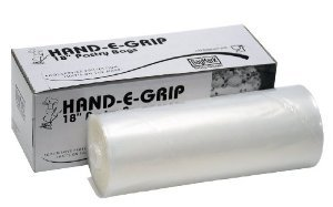 """Best Buy DayMark 115436 18"""" Hand-E-Grip Disposable Pastry Bag with Dispenser (Roll of 100)"""