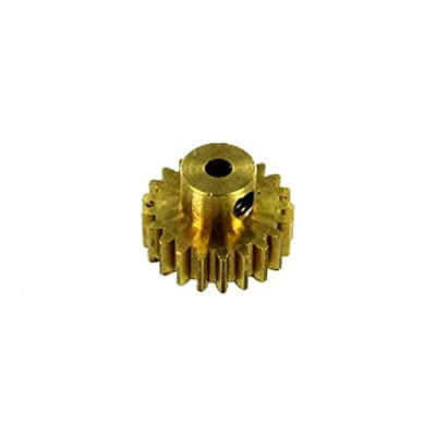 Redcat Racing 11171 Brass Pinion Gear, 21T, .8 Module: Toys & Games