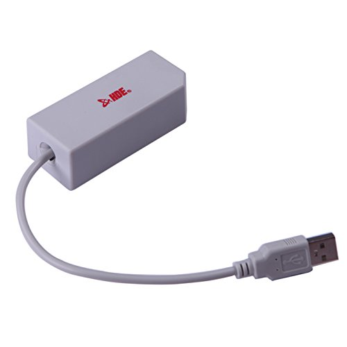 HDE Nintendo Switch / Wii U / Wii USB to LAN Network Adapter Ethernet [Wired Connection] (Performance Lan Station)