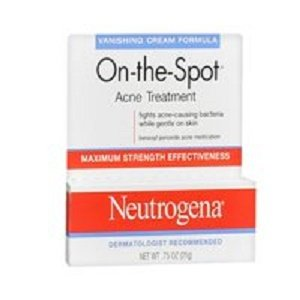 Neutrogena Spot Acne - Neutrogena On-The-Spot Acne Treatment Vanishing Cream Formula 0.75 oz ( Pack of 2)