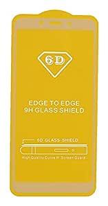 5D Glass Screen Protector for Xiaomi Redmi 6A, White