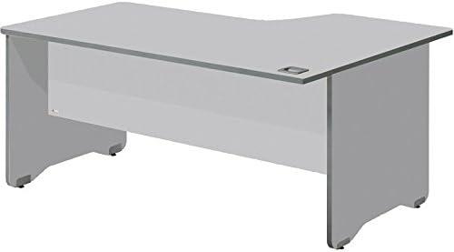 Mesa 180x80 estructura aluminio tablero gris: Amazon.es: Oficina y ...